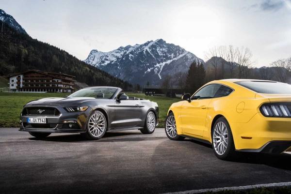 Mustang til Europa