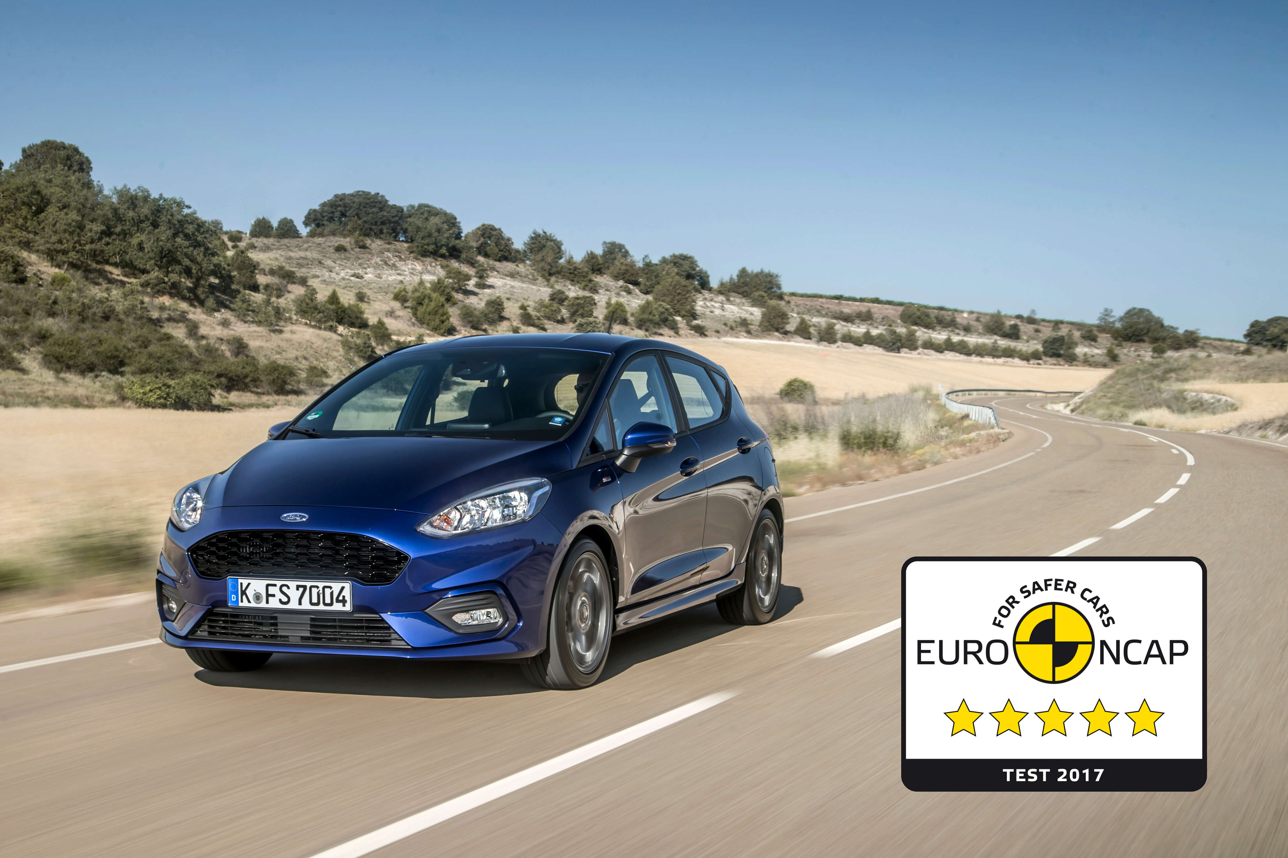 Fiesta-Euro-NCAP-sikkerhed