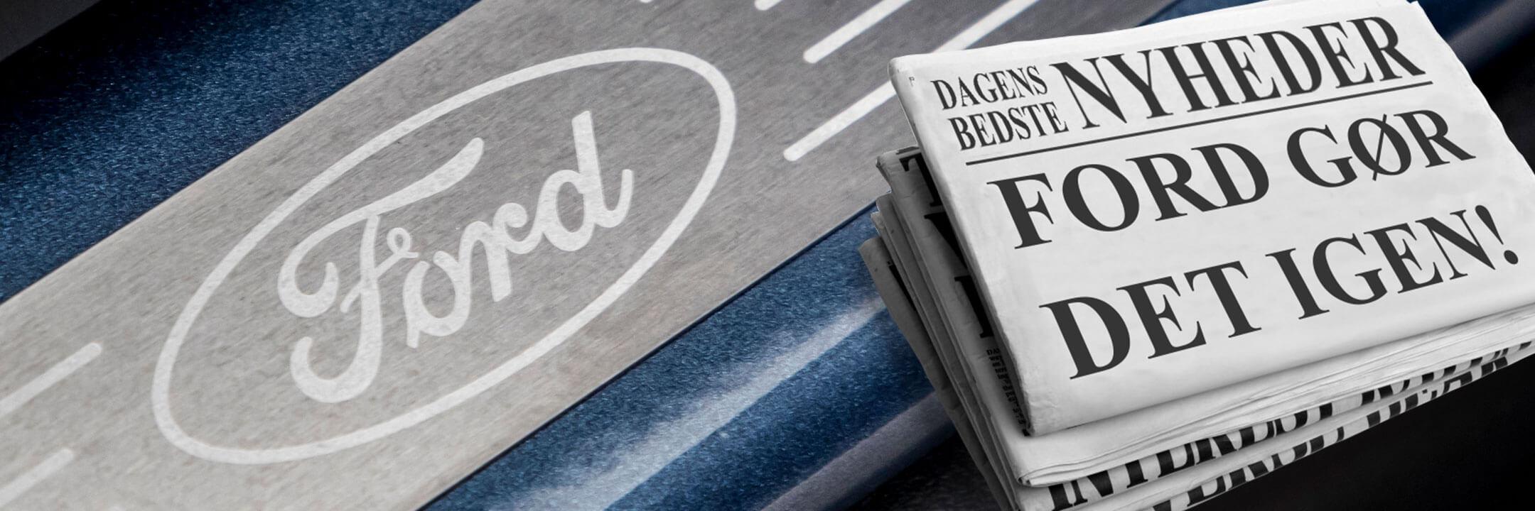 Hvad skriver pressen om Ford?